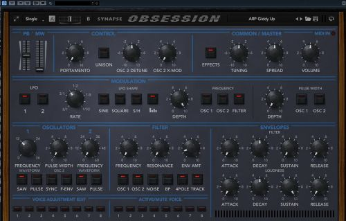 Obsession Sound Library