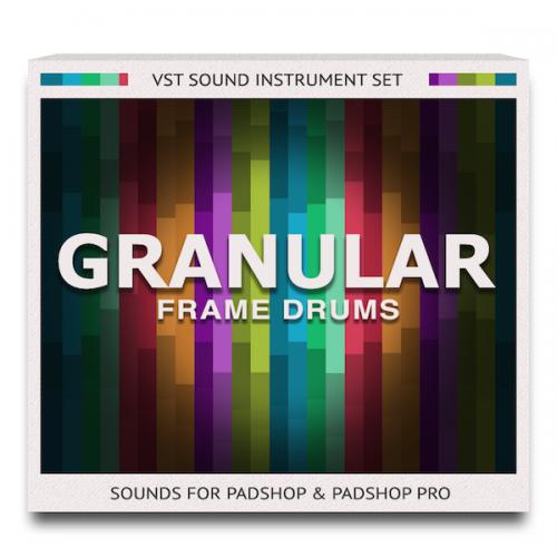 Granular Frame Drums Sound Set for PadShop and PadShop Pro