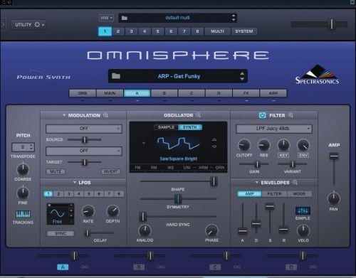 Omnisphere 2.5 Sound Library