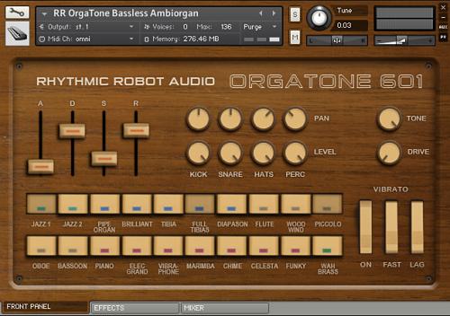 Orgatone 601