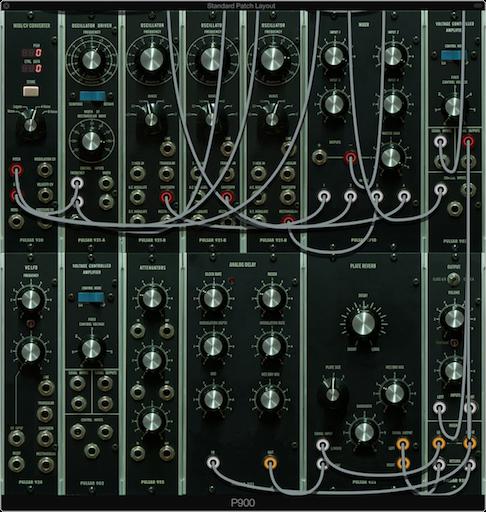 900 Series Modular Synthesizer