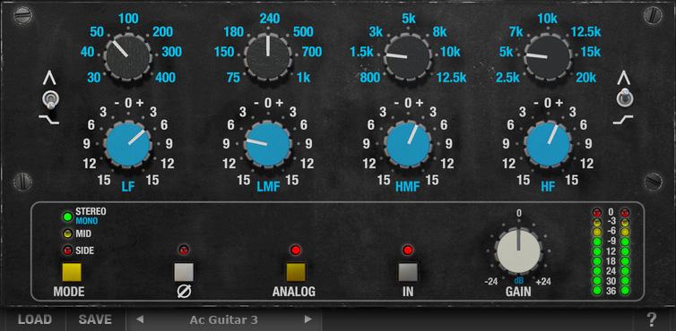 AQ550b Classic American EQ VST