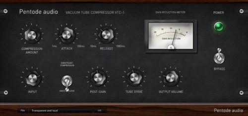 Pentode Audio VTC-1 - Vacuum tube compressor