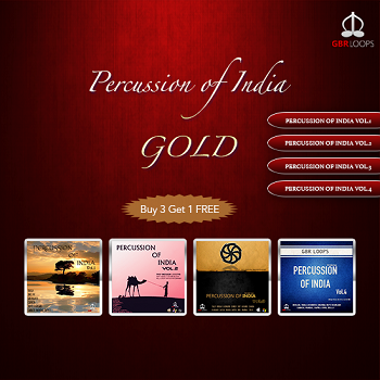 Percussion of india Gold
