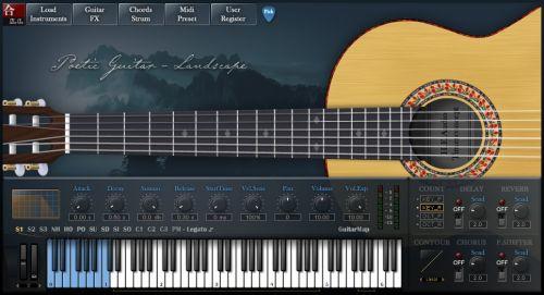 Poetic Guitar-Landscape (PGL)