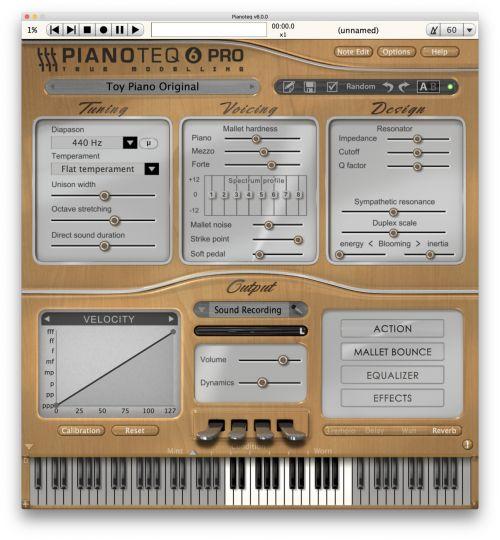 Celesta, Glockenspiel, Toy Piano and Kalimba
