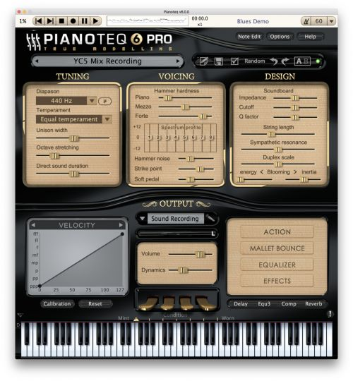YC5 Rock Piano