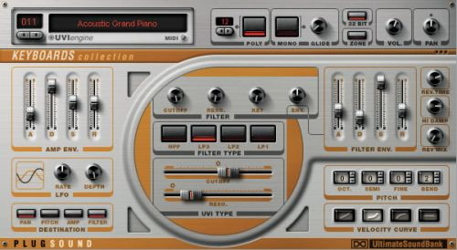 Plugsound Vol. 1: Keyboards