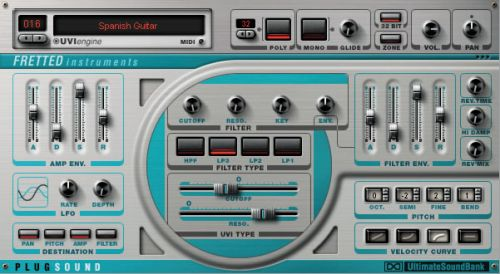 Plugsound Vol. 2: Fretted