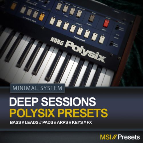 Deep Sessions for Korg's PolySix