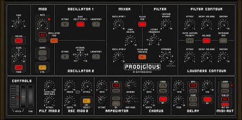 Prodigious Synthesizer