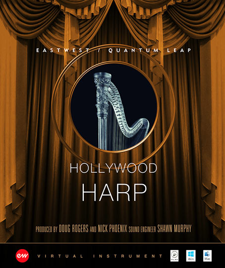 Hollywood Solo Harp