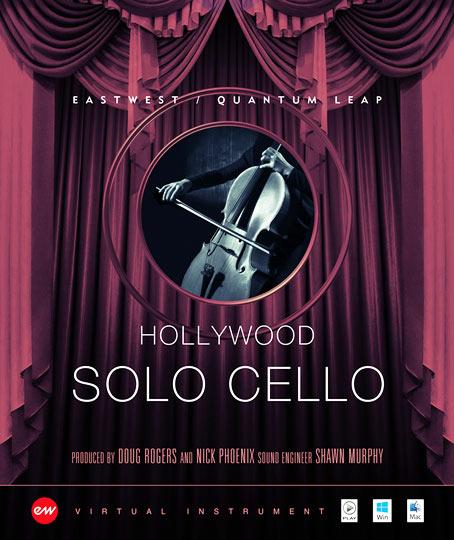 Hollywood Solo Cello - Gold