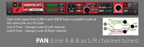 Drop'n'Lift Semitone Transpose Fx