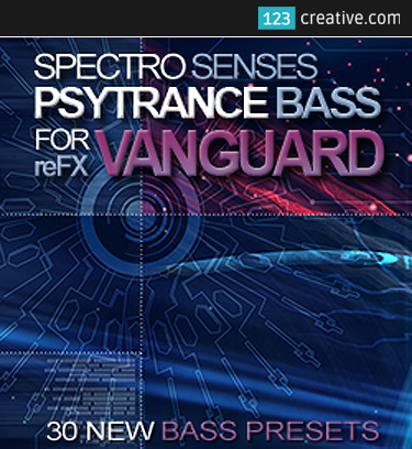 Psytrance Bass presets for reFX Vanguard Vol.1