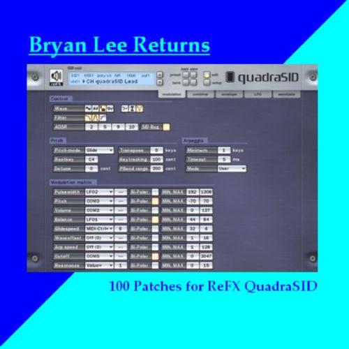 Bryan Lee Returns (sounds for QuadraSID)