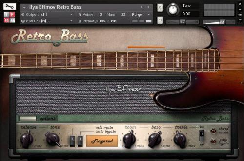 Ilya Efimov Retro Bass