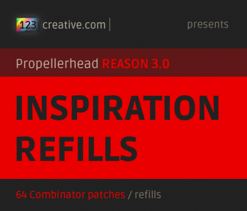 The INSPIRATIONS ReFill - 64 Combinator patches (Keys & Synths, Leads, Mods and FX)