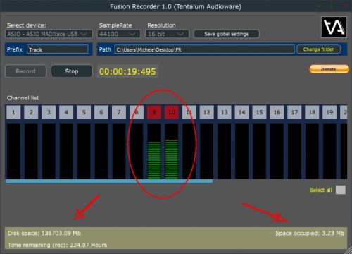 Fusion Recorder (free)