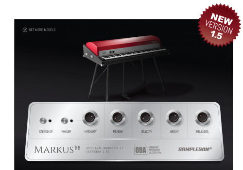 Markus 88 - Spectral Modeled Electric Piano
