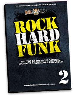 Rock Hard Funk II | Funk, Funk Rock, RnB Drum Loops