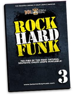 Rock Hard Funk III | Modern Hybrid Funk Drum Loops