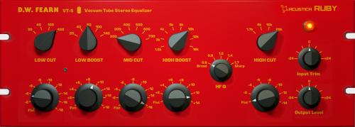 Ruby VT-5 Stereo Vacuum Tube LC Equaliser