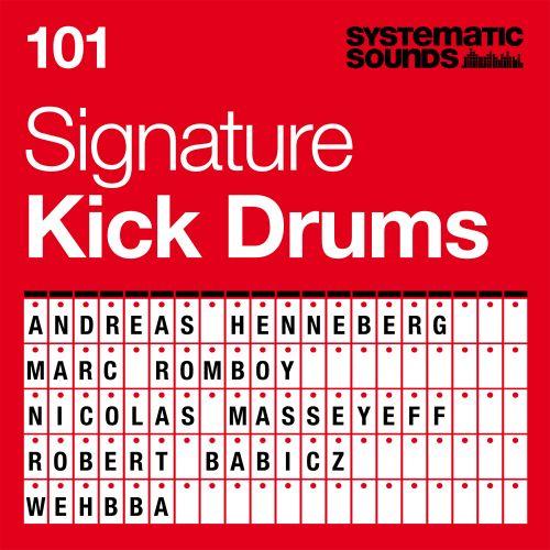 101 Signature Kick Drums