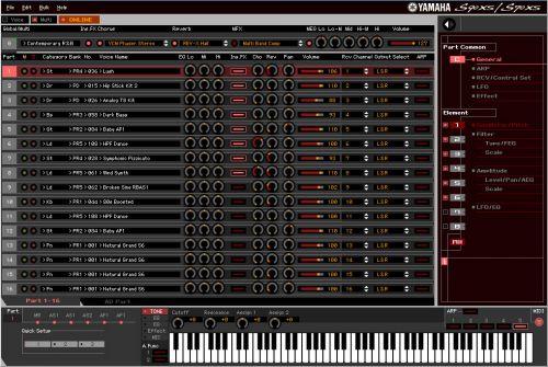 S90 XS/S70 XS Editor VST