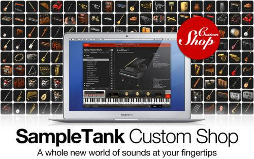 SampleTank Custom Shop