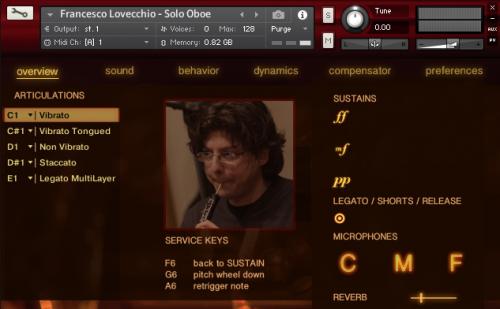Francesco Lovecchio: Solo Oboe