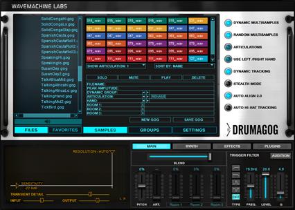 Solid Percussion:Drumagog