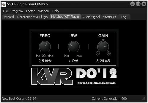 VST Plugin Preset Match