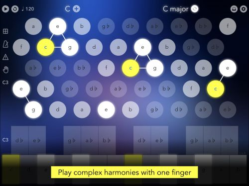 Navichord Lite • chord sequencer and MIDI controller