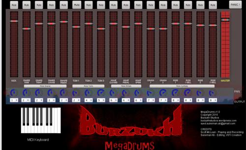 MegaRock Drums v1.0