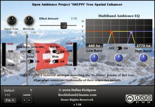 SHEPPi Spatial Enhancer