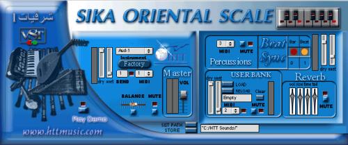 HTT-Sika Oriental Scale