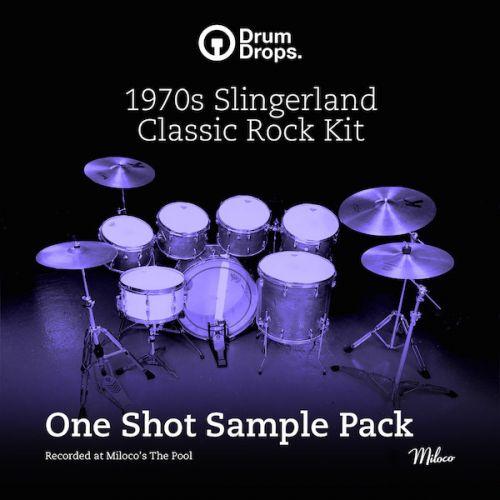 1970s Slingerland Classic Rock Kit - One Shot Sample Pack