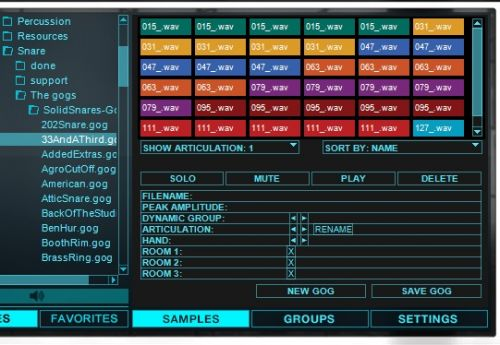 Solid Snare:Drumagog