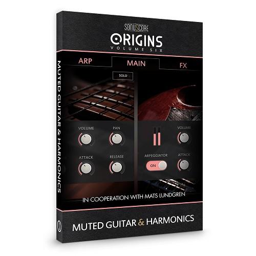 Origins Series Vol 6 Muted Guitar and Harmonics