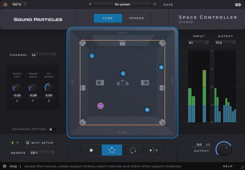 Space Controller - Studio