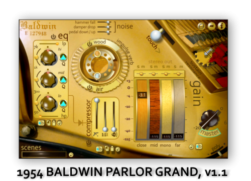 1954 Baldwin Parlor Grand, v 1.1
