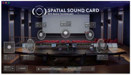 Spatial Sound Card App