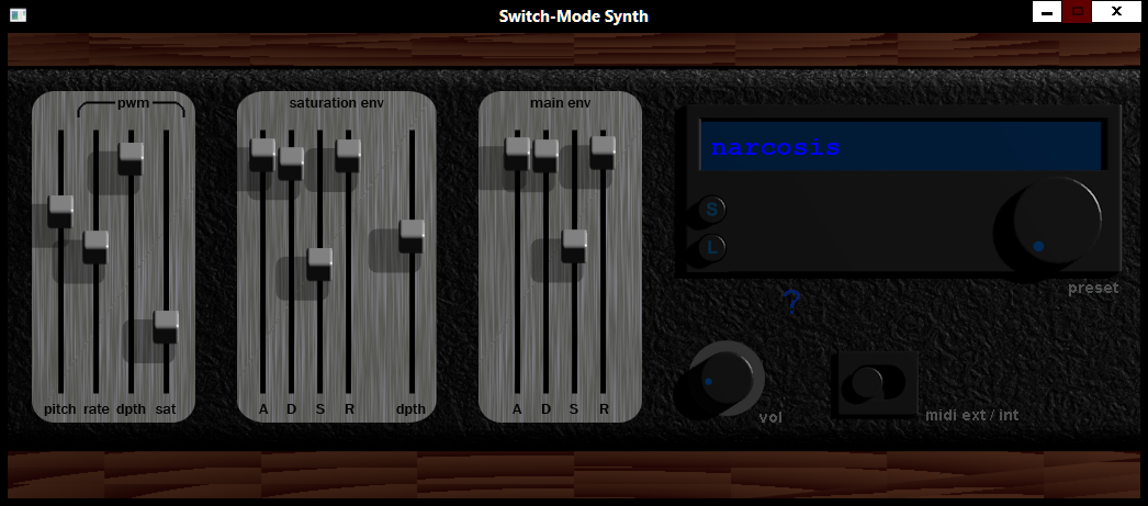Switch-mode Synth