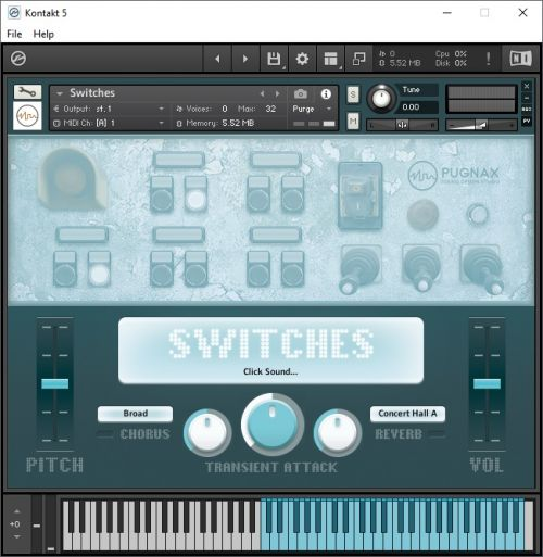 Switches Kontakt Library