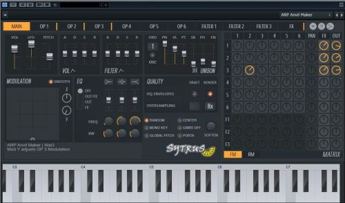 Sytrus Sound Library