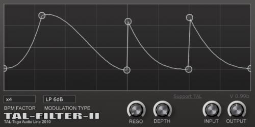 TAL-Filter II