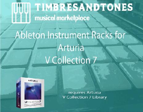 Ableton Instrument Racks for Arturia V Collection 7