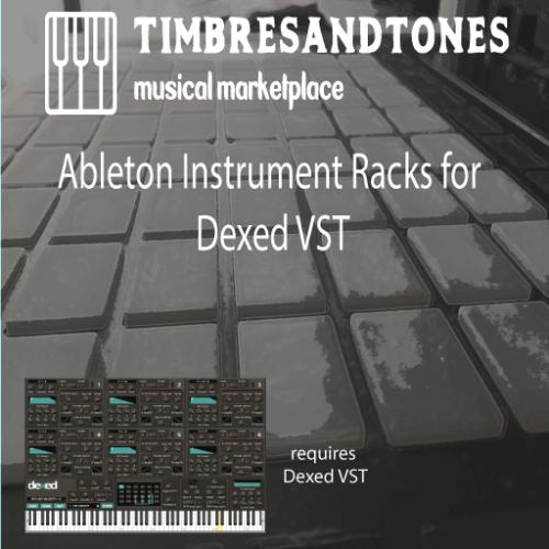 Ableton Instrument Racks for TAL-Bassline VST