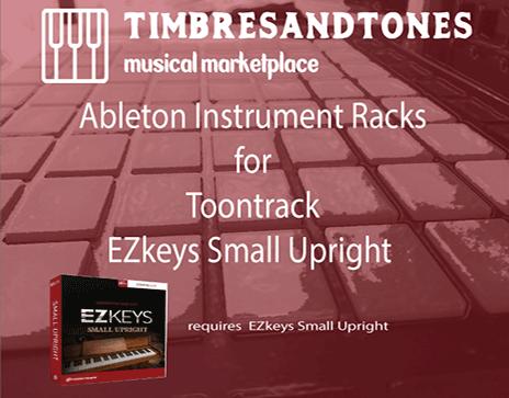 Ableton Instrument Racks for EZkeys Small Upright